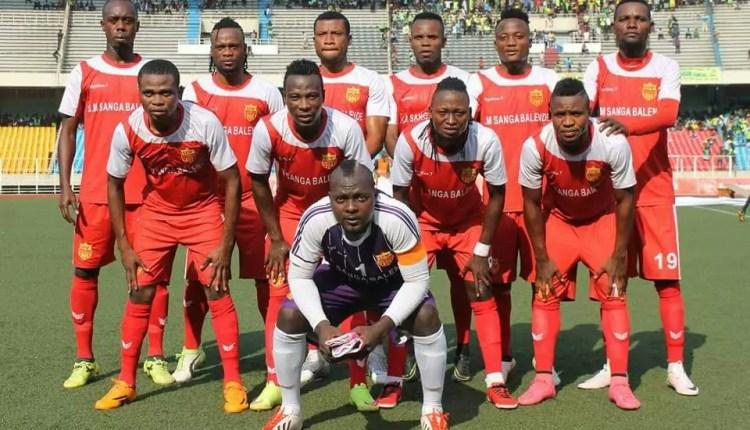 Vodacom Ligue 1: Sanga Balende tombe dans les attrape-mouches.