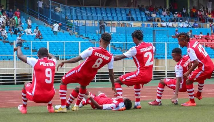 C2 CAF : l'AS Nyuki et DCMP, Une qualification qui tient à un miracle.