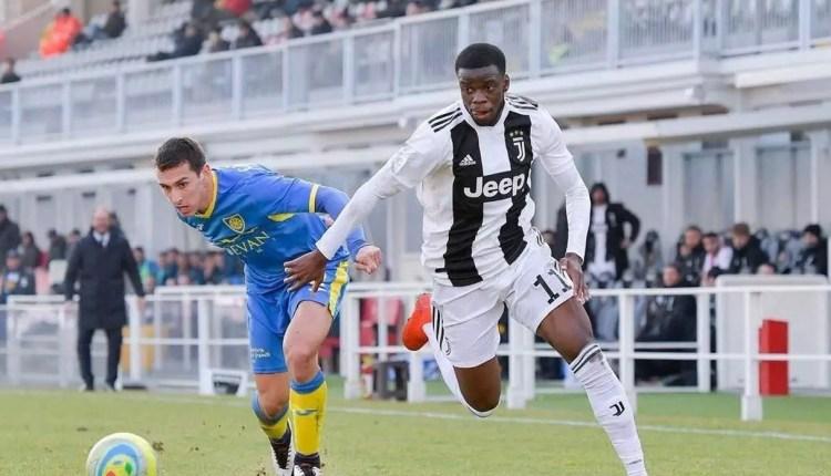 Italie : Un jeune congolais fait ses début avec la Juventus de Turin.