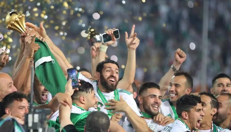 CAN 2019 : Quand Les joueurs algériens sont empêchés de fêter le titre avec leurs supporters