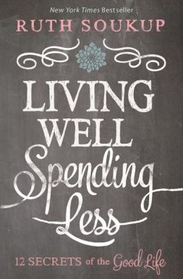 Book cover - living Well Spending Less