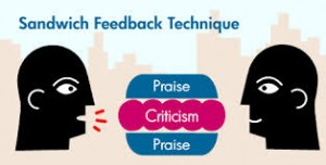 feedback sandwich technique