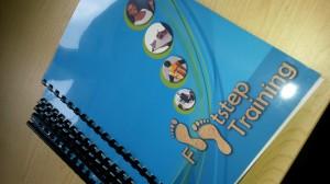 Footstep Training workbooks