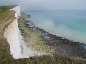The stunning Telscombe Cliffs
