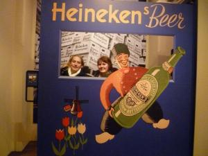 Fun at the Heineken Factory..