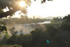 The Blue Nile Falls..