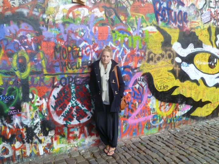 The John Lennon wall..