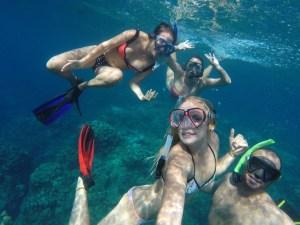 Snorkelling shenanigans..