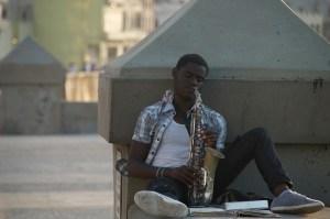 Tunes along the Malecon