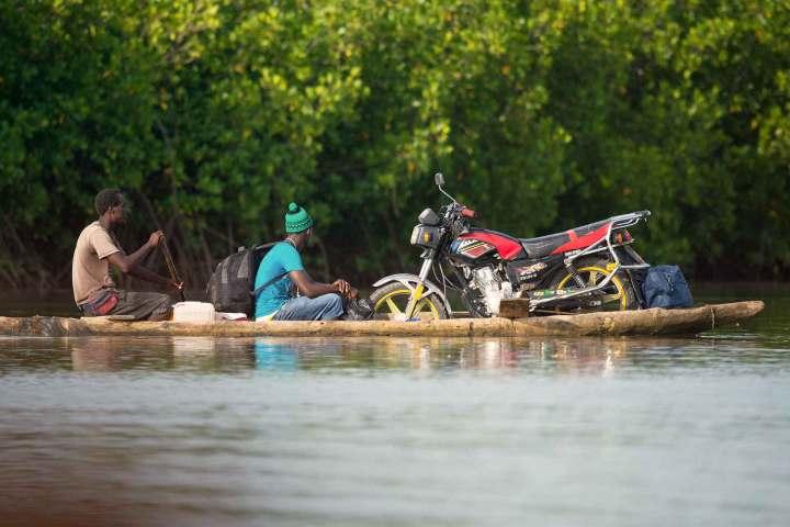 Gambia activities | photography | Gambian river