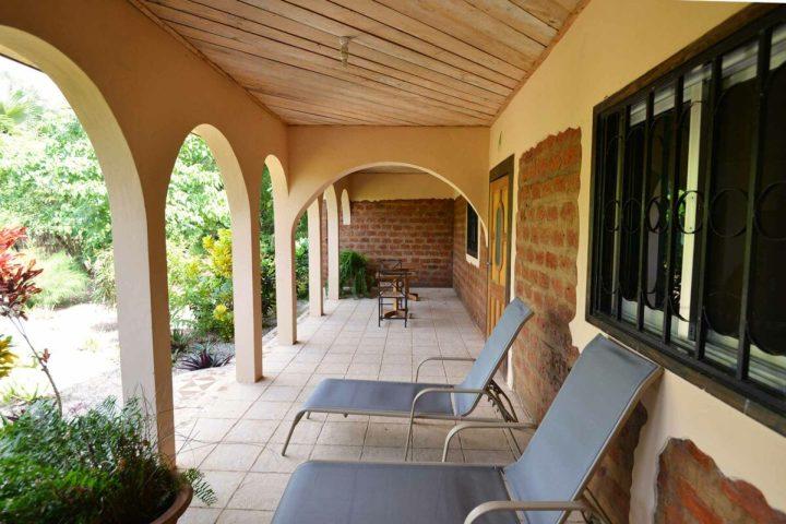 Sunbird House accommodation | exterior | veranda