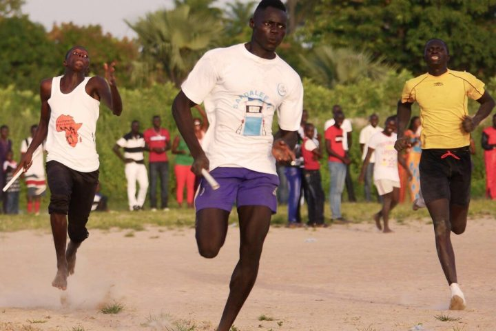 Gambia activities | free sports at Footsteps | Gunjur sports day