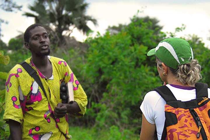 Lamin's walk and talk - Gambia activities