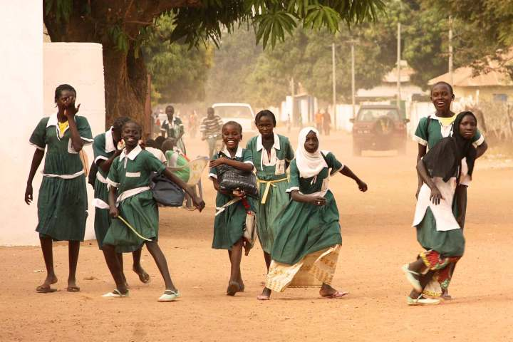 Gambia photography | Gambian schools