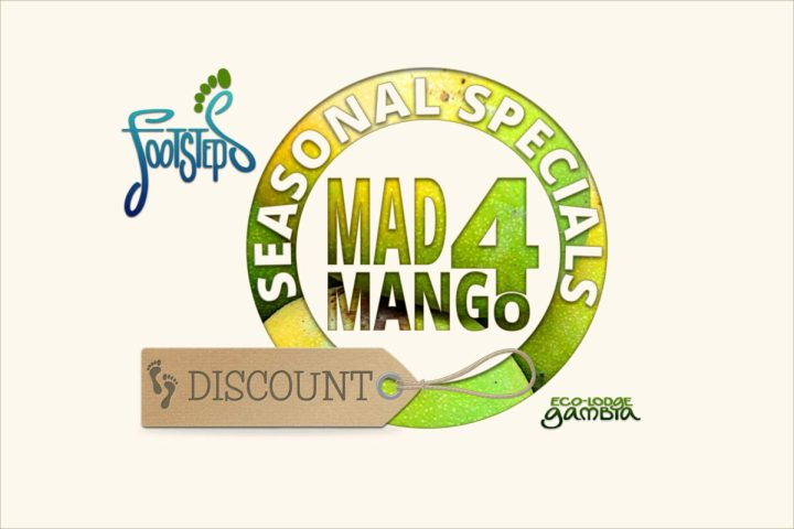 Footsteps eco-lodge Gambia   Special Offers   Seasonal Specials   Mad 4 Mango Discount