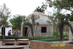 Footsteps eco-lodge Gambia | Rebuilding after the 2007 fire