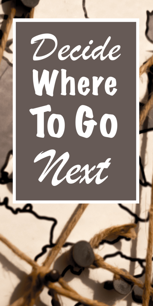 how to decide where to go abroad