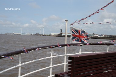 on the mersey ferry