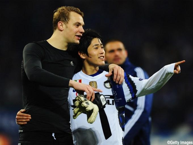 Schalke 04 v Inter Milan - UEFA Champions League Quarter Final