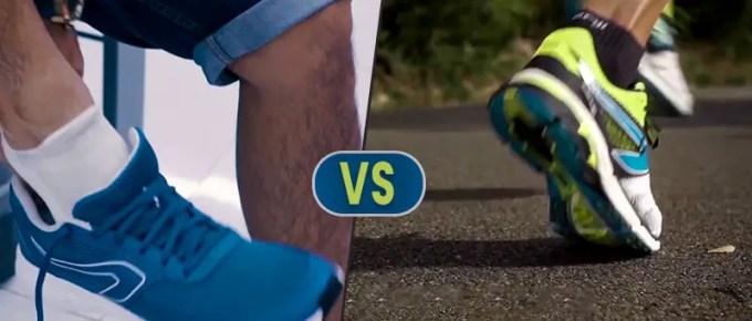 Walking Shoes vs Running Shoes FI