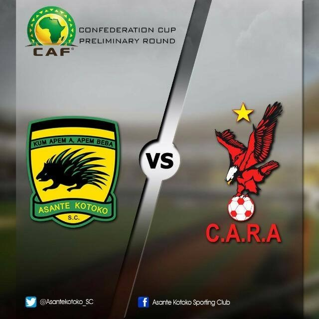 Yakubu Mohammed's Late Penalty Saves Wasteful Kotoko Against CARA — CAF Confederation Cup