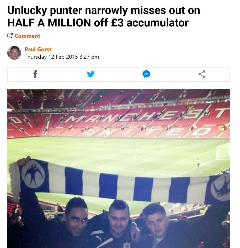 football accumulator losers