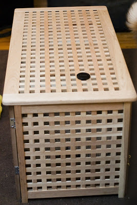 Ikea Storage Bench Can Double As Dog Kennel FOOYOH
