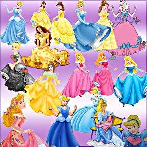 Принцессы | Клипарты Детские скачать бесплатно