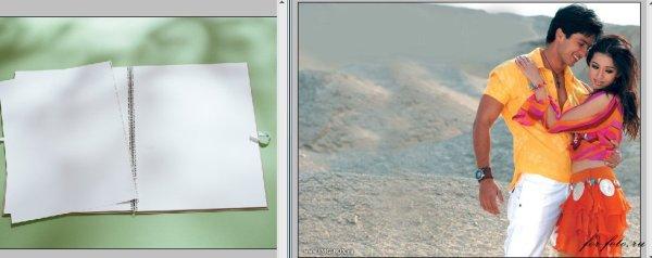 Урок- Рисунки в альбоме | Уроки фотошоп / Обработка фото ...