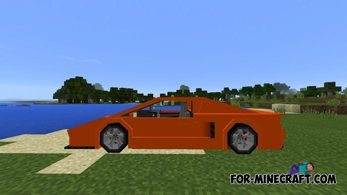 Minecraft Lamborghini Veneno Pe
