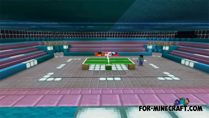 Table Tennis For Minecraft PE 1X