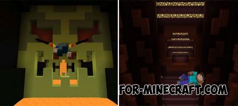 Novo Mapa Elytra Dropper Para Minecraft PE - Bedrock