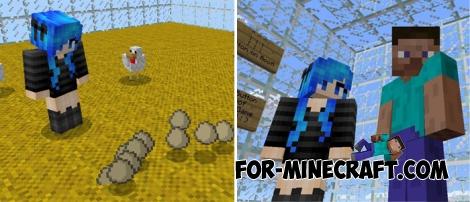 Mapa de Dropper de vidro Para Minecraft PE 1.2