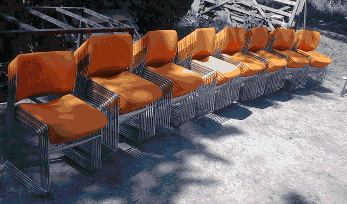 82x Designer Chairs David Rowland 40 4 Stackable Chairs