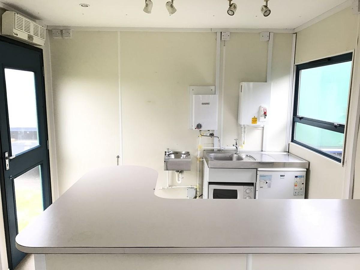 Secondhand Portable Buildings Mobile Kitchen Units