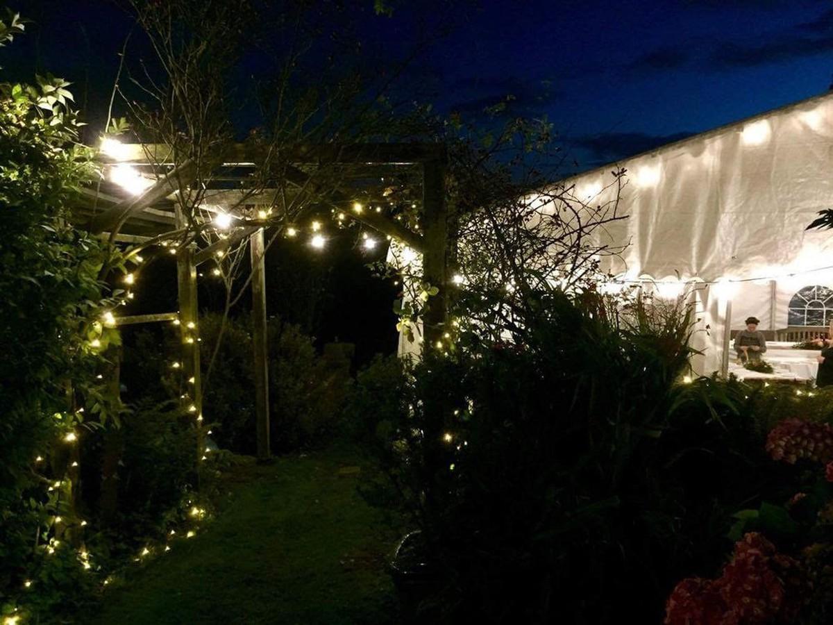 festoon fairy lights bingley west yorkshire