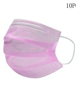 Mascarilla rosa higienica desechable