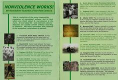 Nonviolence works front page