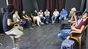 A Fragments Theatre workshop