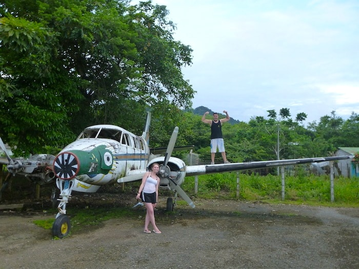 Drug Plane in Capurgana