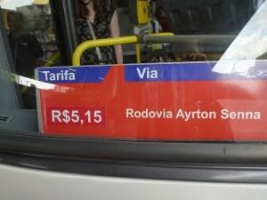 Onibus para Guarulhos Aeroporto