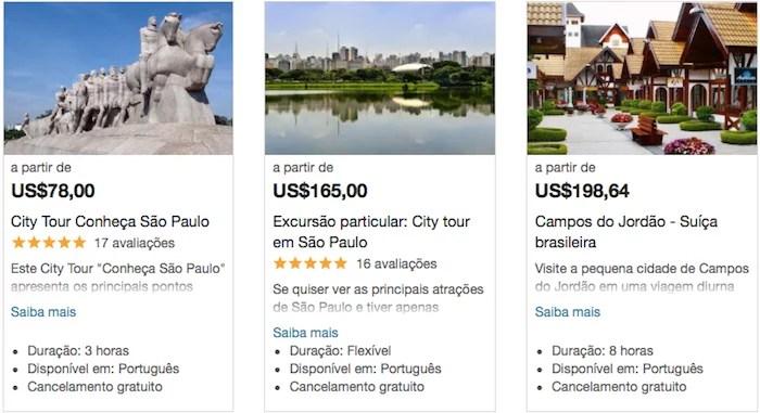 atividades São Paulo