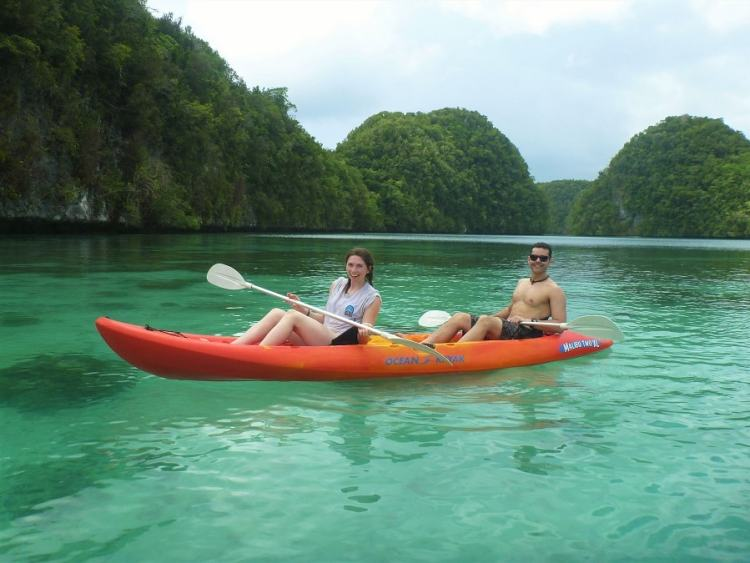 Ilhas Rochosas em Palau