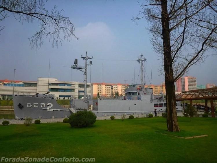 USS Pueblo - um navio de espionagem Americano capturado pelos norte-coreanos