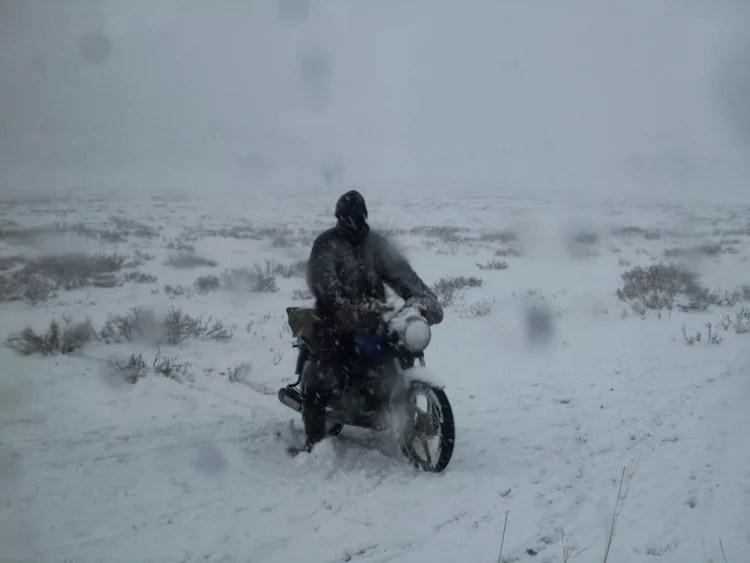 neve no deserto