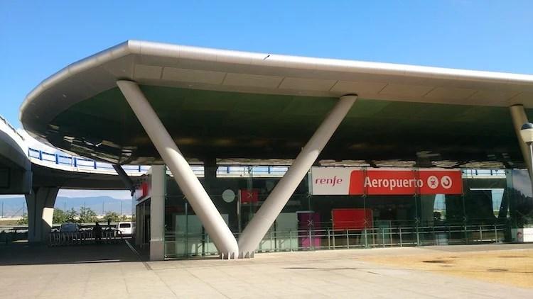 estação de trem do aeroporto de Malaga