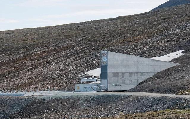 Svalbard Noruega Global Seed Vault cofre global de sementes