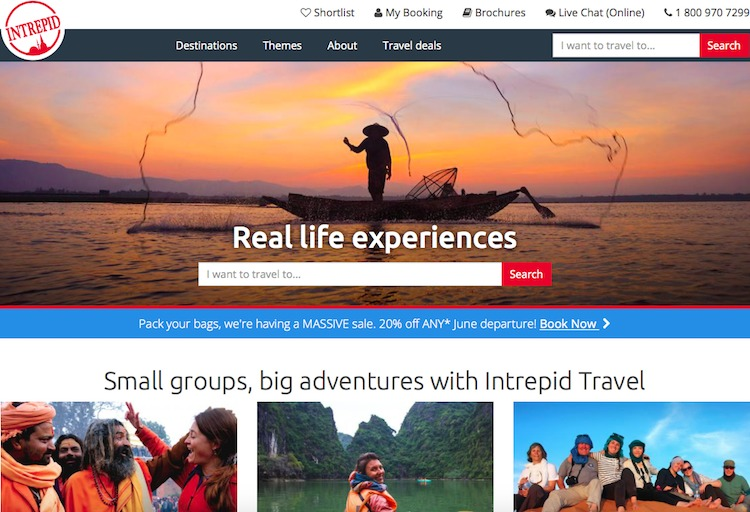 Viagem em grupos pequenos