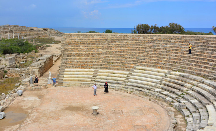 Cidade antiga Salamis 3