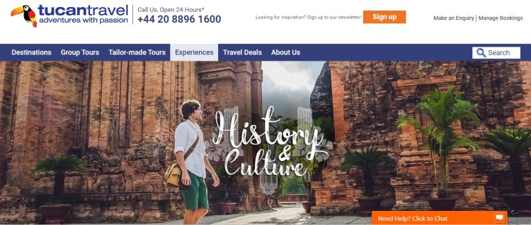 empresas de viagens de aventura tucan travel